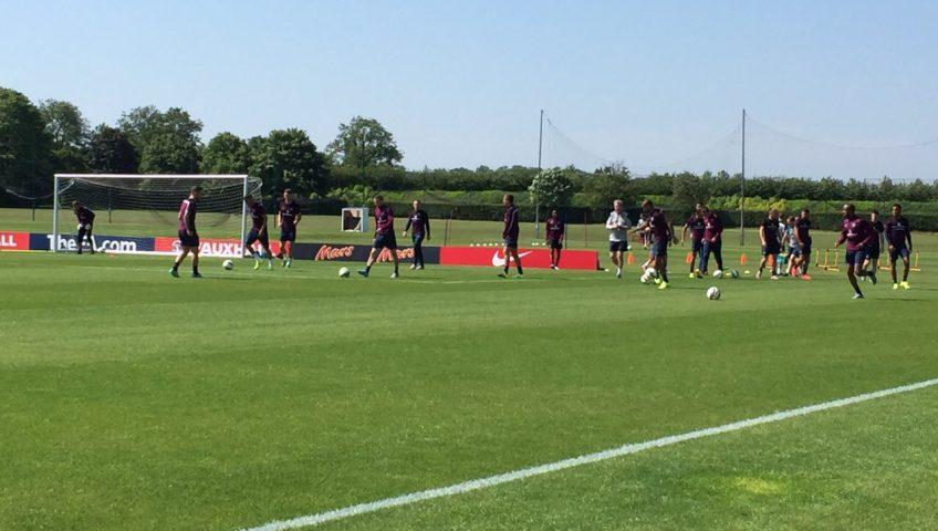 La Selección Inglesa se entrenó en las instalaciones construidas por ARPASA en el Reino Unido