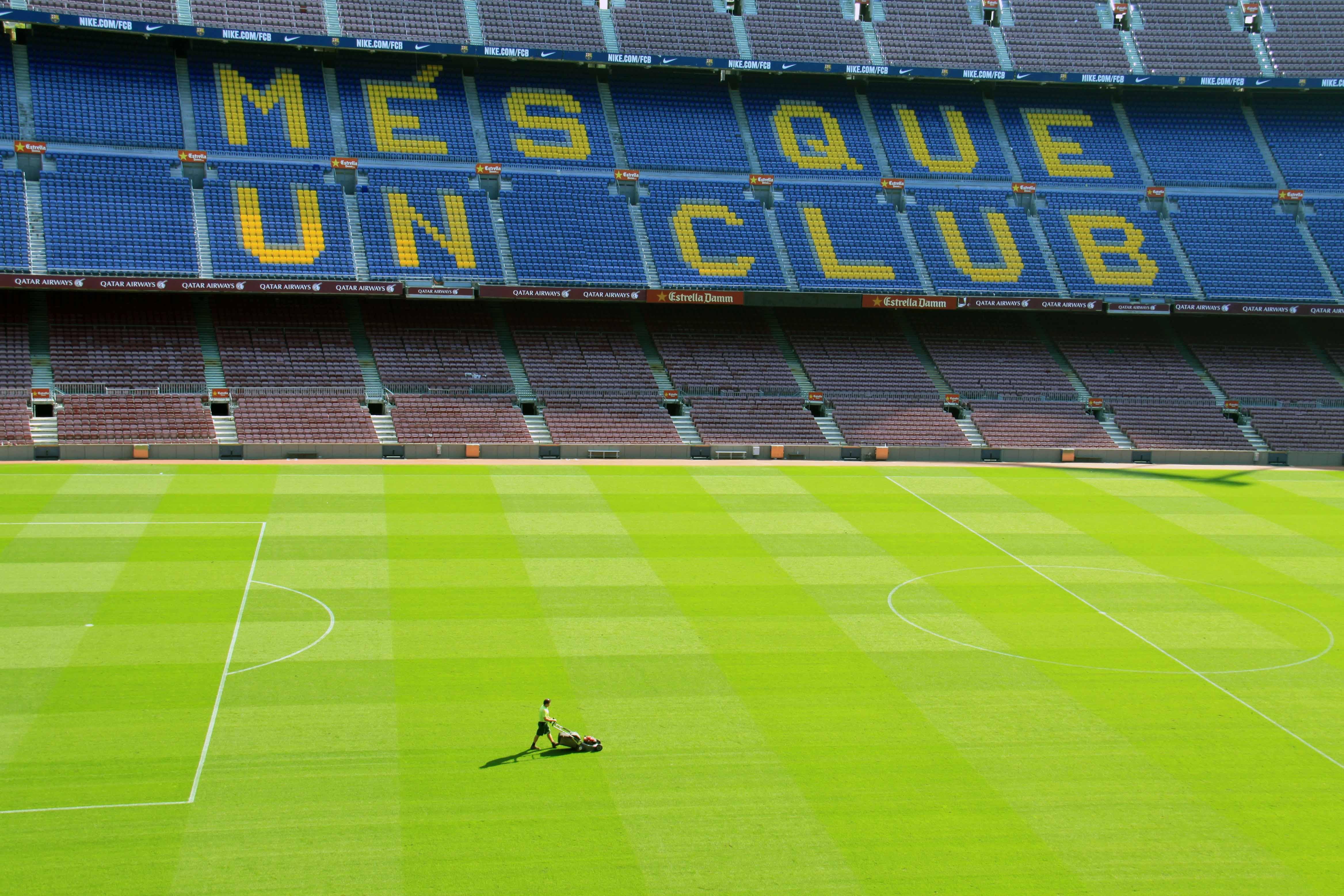 Estadios de fútbol que tienen mejor césped en Europa