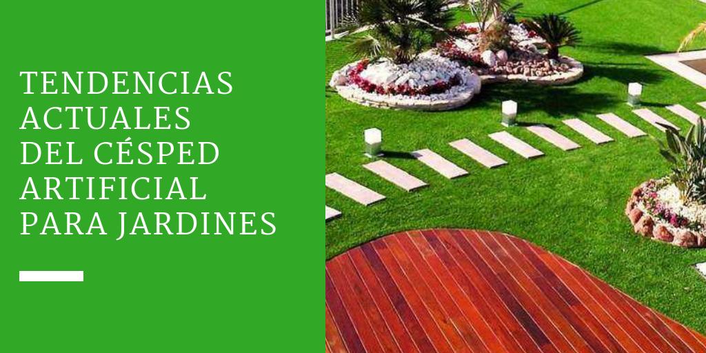 Tendencias actuales del césped artificial para jardines