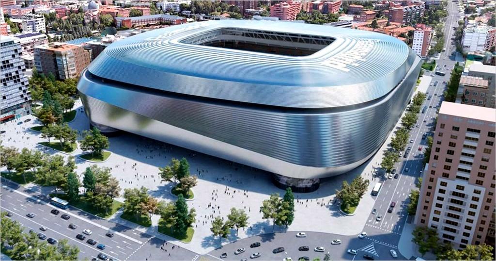 Conoce el nuevo césped retráctil del Santiago Bernabéu